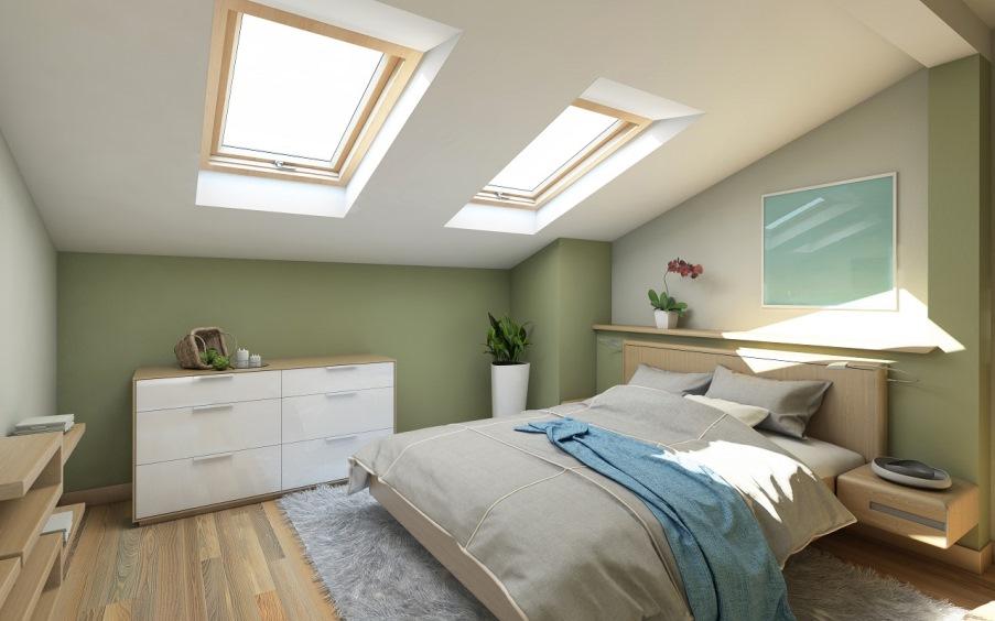 Bedroom Attic Conversions in Sydney